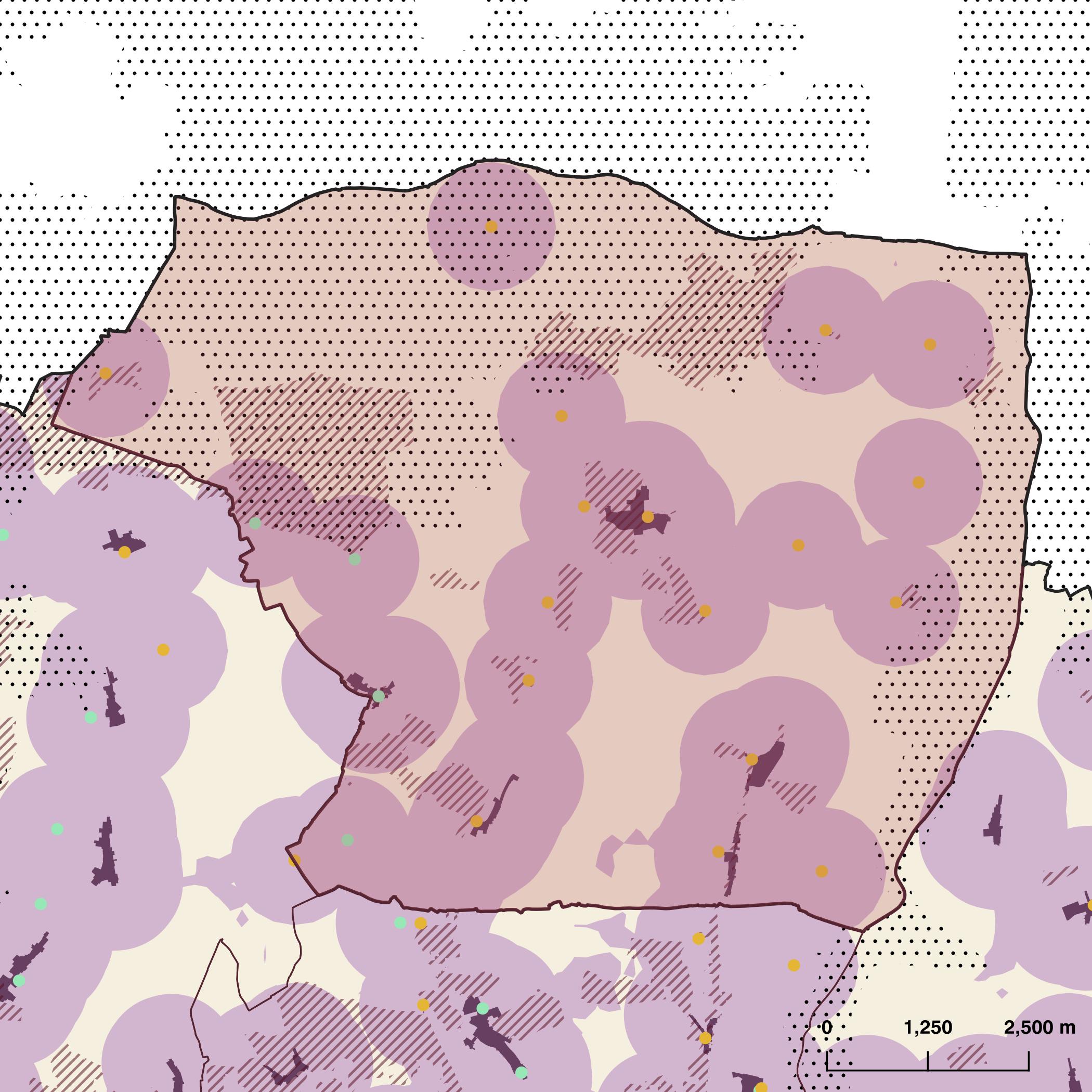 Planning Constraints Map